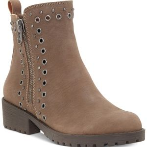 NWT! Lucky Brand Hannie Booties Brindle